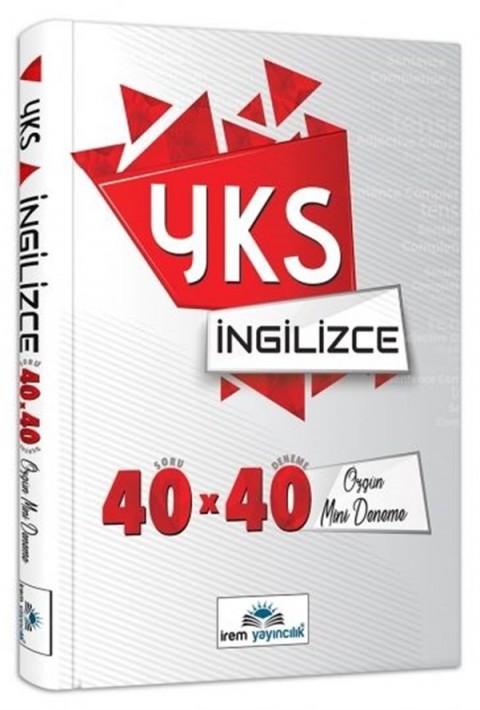 İrem Yayıncılık YKS İngilizce 40*40 Özgün Mini Denemeler