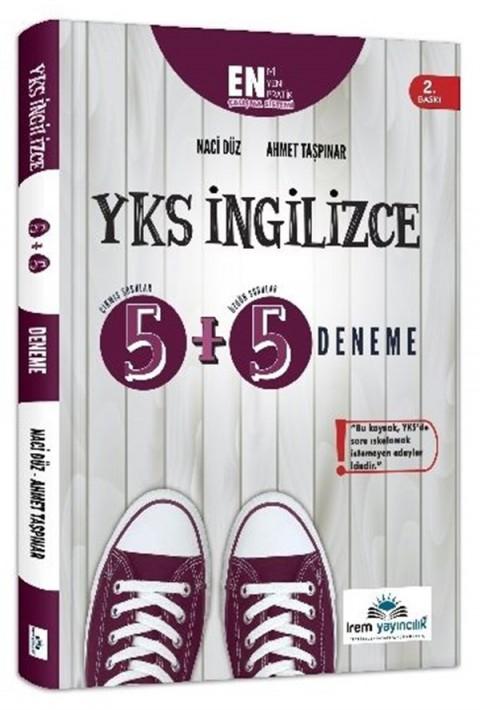 İrem Yayıncılık YKS İngilizce 5+5 Deneme