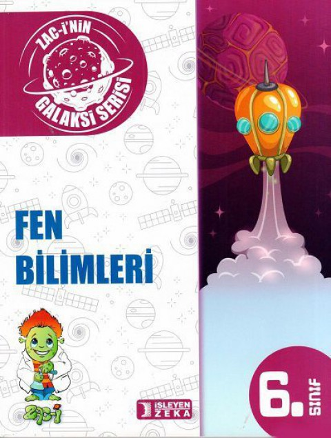 İşleyen Zeka Yayınları Galaksi 6. Sınıf Fen Bilimleri Soru Bankası