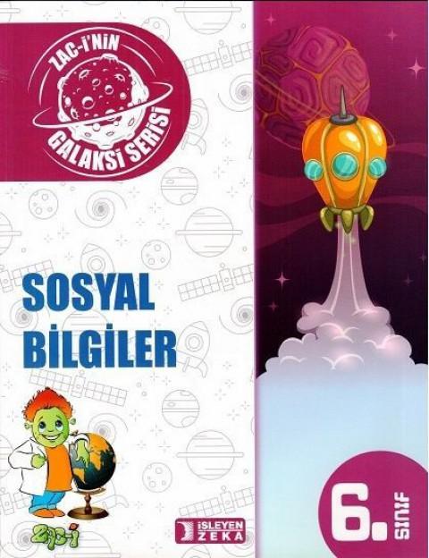 İşleyen Zeka Yayınları Galaksi 6. Sınıf Sosyal Bilgiler Soru Bankası