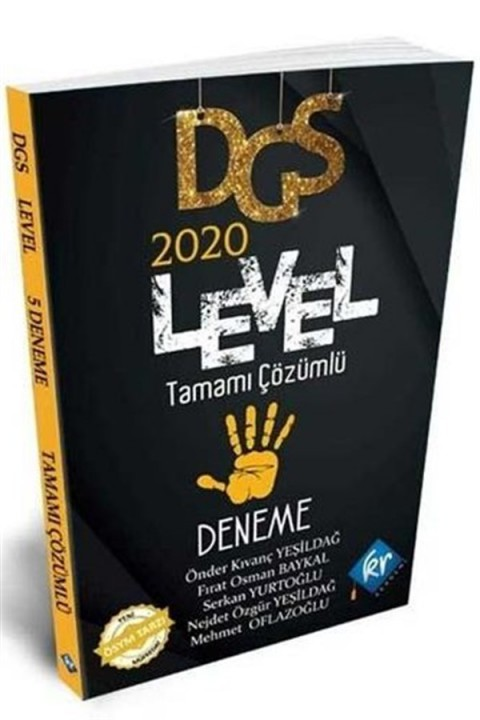 KR Akademi 2020 DGS Level Tamamı Çözümlü 5 Deneme