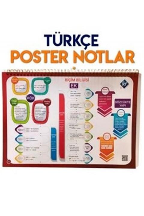 KR Akademi TYT Türkçe Poster Notlar