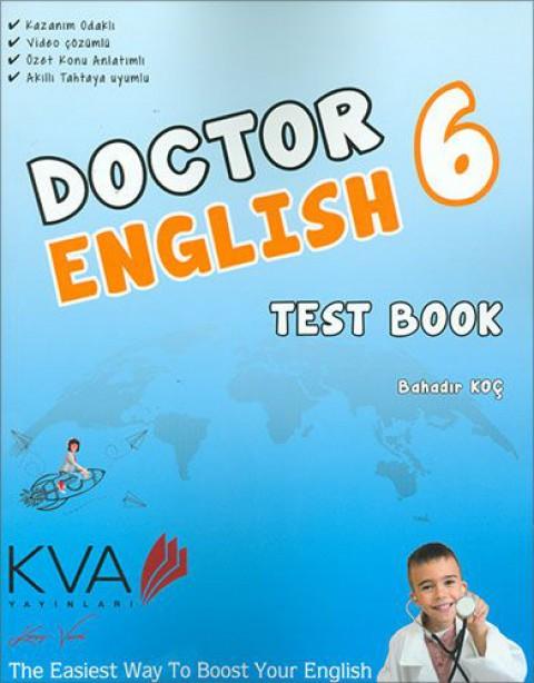KVA Yayınları 6. Sınıf Doctor English Test Book