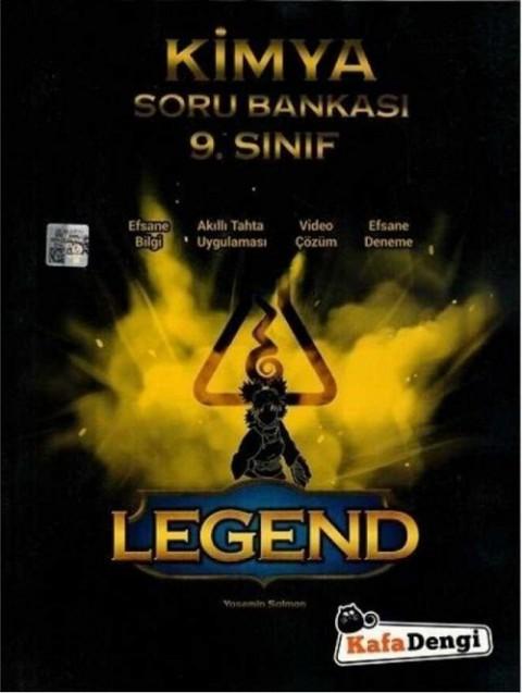 Kafadengi Yayınları 9. Sınıf Kimya Legend Soru Bankası