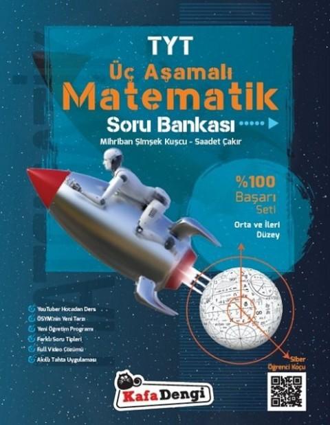Kafadengi Yayınları YKS TYT Matematik Üç Aşamalı Soru Bankası Orta ve İleri Düzey
