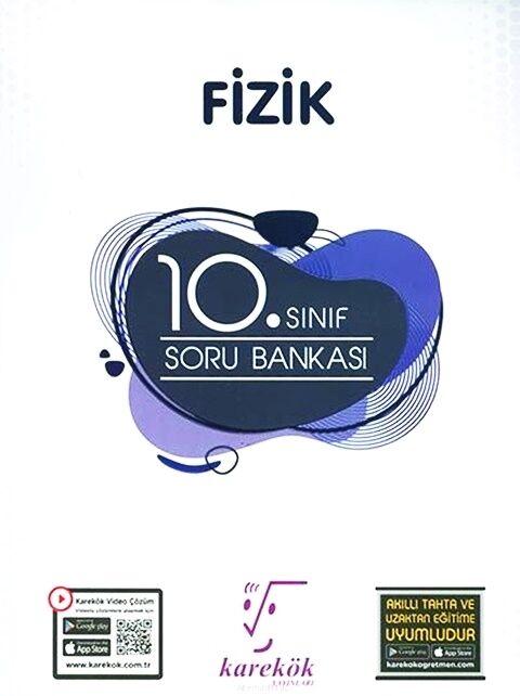 Karekök Yayınları 10. Sınıf Fizik Soru Bankası