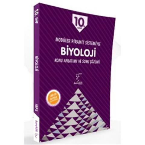 Karekök Yayınları 10. Sınıf Modüler Piramit Sistemiyle Biyoloji Konu Anlatımı ve Soru Çözümü
