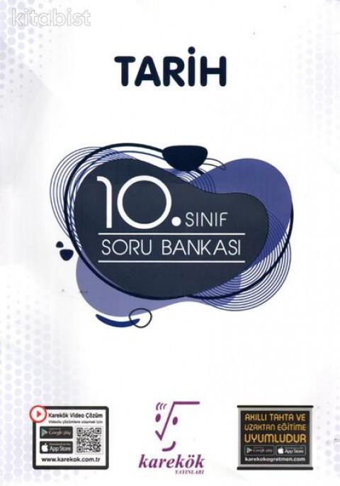 Karekök Yayınları 10.Sınıf Tarih Soru Bankası