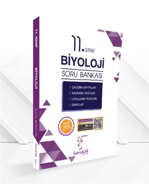 Karekök Yayınları 11.Sınıf Biyoloji Soru Bankası
