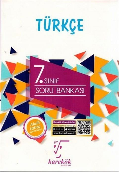 Karekök Yayınları 7. Sınıf Türkçe Soru Bankası