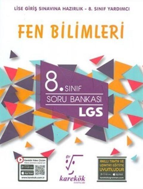 Karekök Yayınları 8. Sınıf Fen Bilimleri LGS Güncel Soru Bankası