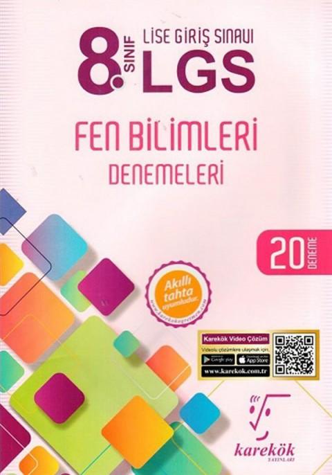 Karekök Yayınları 8. Sınıf LGS Fen Bilimleri Denemeleri