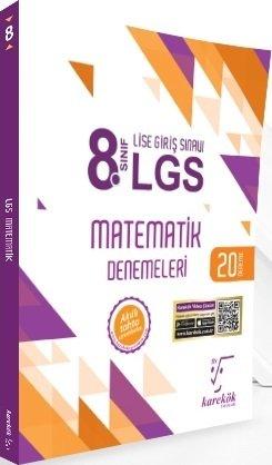 Karekök Yayınları 8. Sınıf LGS Matematik 20 Deneme Sınavı