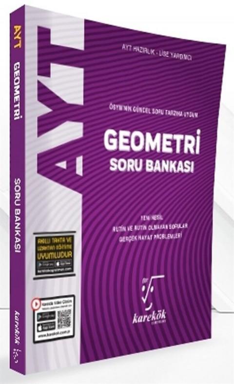 Karekök Yayınları AYT Geometri Güncel Soru Bankası