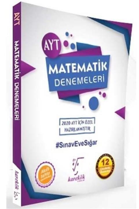 Karekök Yayınları AYT Matematik Özel Çözümlü 12 Deneme