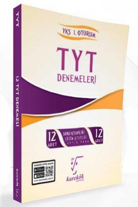 Karekök Yayınları TYT 12 Deneme