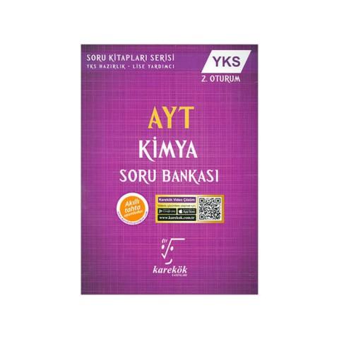 Karekök Yayınları YKS 2. Oturum AYT Kimya Soru Bankası
