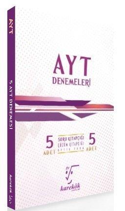 Karekök Yayınları YKS AYT 5 Deneme