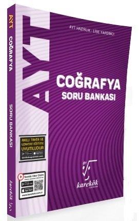 Karekök Yayınları YKS AYT Coğrafya Soru Bankası