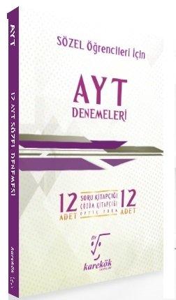 Karekök Yayınları YKS AYT Sözel 12 li Denemeleri