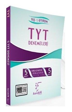 Karekök Yayınları YKS TYT 5 Deneme Çözümlü
