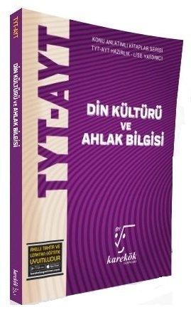 Karekök Yayınları YKS TYT AYT Din Kültürü ve Ahlak Bilgisi MPS Konu Anlatımlı Soru Bankası