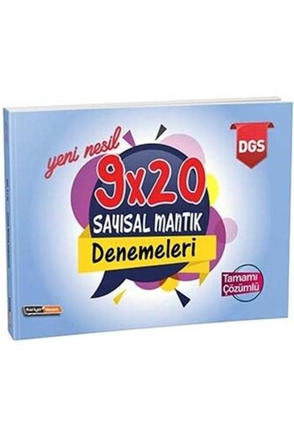 Kariyer Meslek Yayınları DGS Yeni Nesil Tamamı Çözümlü 9×20 Sayısal Mantık Denemeleri