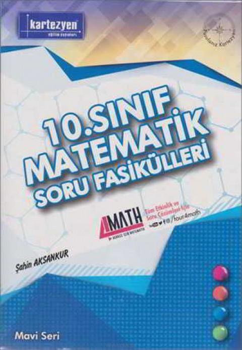 Kartezyen Yayınları 10.Sınıf Matematik Soru Fasilülleri Mavi Seri