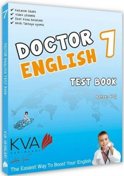 Koray Varol 7. Sınıf Doctor English Test Book