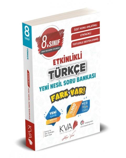 Koray Varol Akademi 8. Sınıf LGS Türkçe Etkinlikli Yeni Nesil Soru Bankası