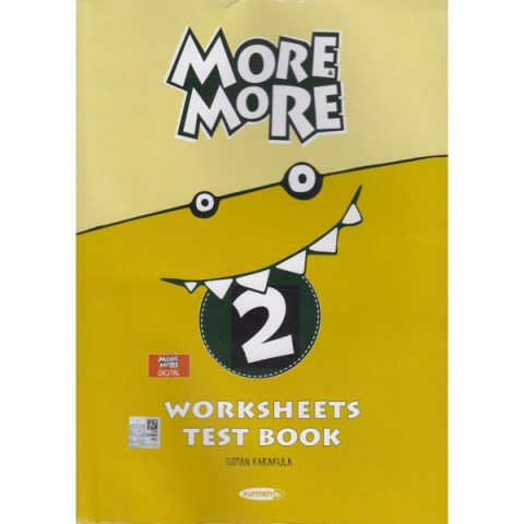 Kurmay ELT New More More English 2 Worksheets Test Book