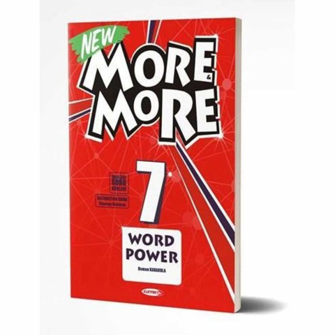 Kurmay Yayınları 7.Sınıf More & More Englısh Wordpower