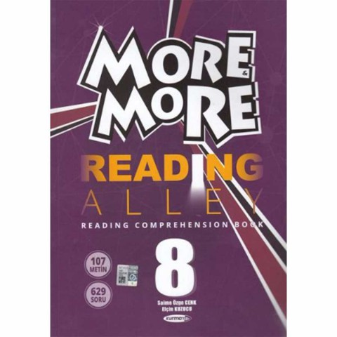 Kurmay Yayınları 8.Sınıf More & More Englısh Readıng Alley
