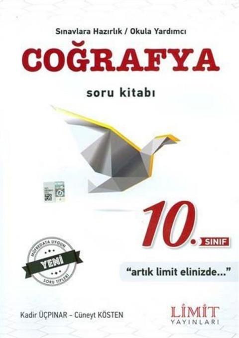 Limit Yayınları 10. Sınıf Coğrafya Soru Kitabı