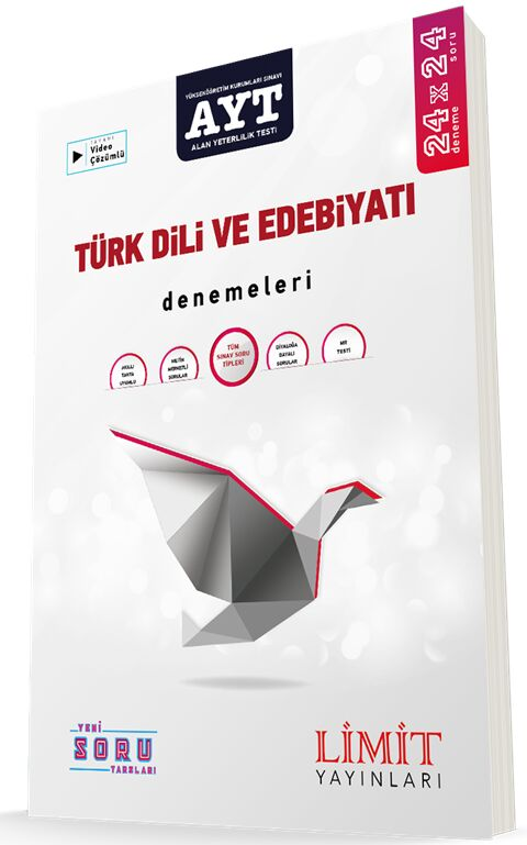Limit Yayınları 2021 AYT Türk Dili ve Edebiyatı Denemeleri