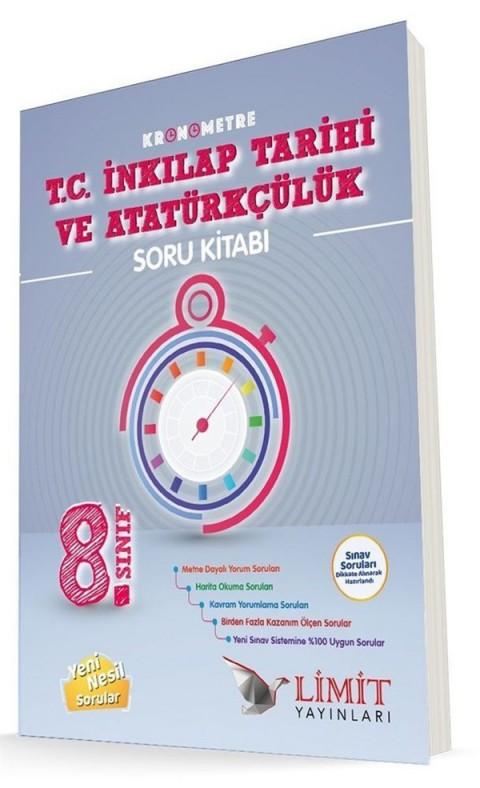 Limit Yayınları 8. Sınıf Kronometre T.C. İnkılap Tarihi ve Atatürkçülük Soru Bankası
