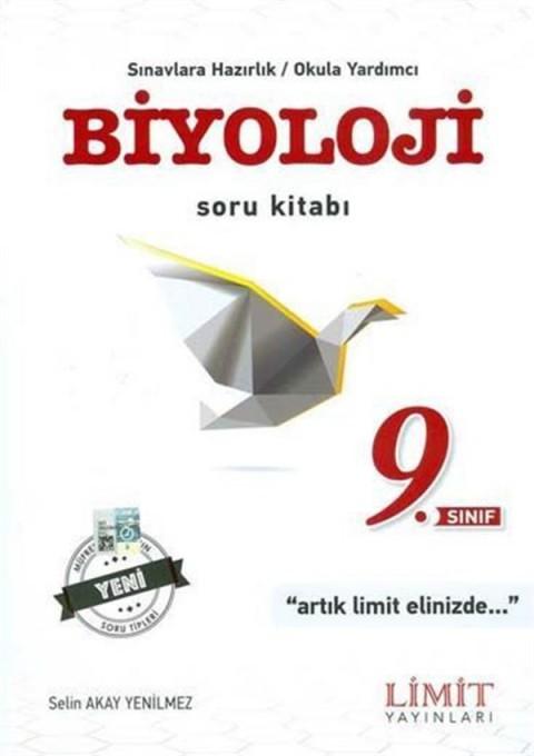 Limit Yayınları 9. Sınıf Biyoloji Soru Kitabı
