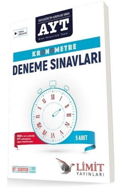 Limit Yayınları AYT Kronometre 5 li Deneme Seti