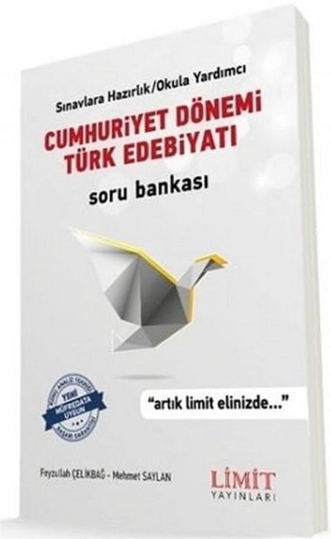 Limit Yayınları Cumhuriyet Dönemi Türk Edebiyatı Soru Bankası