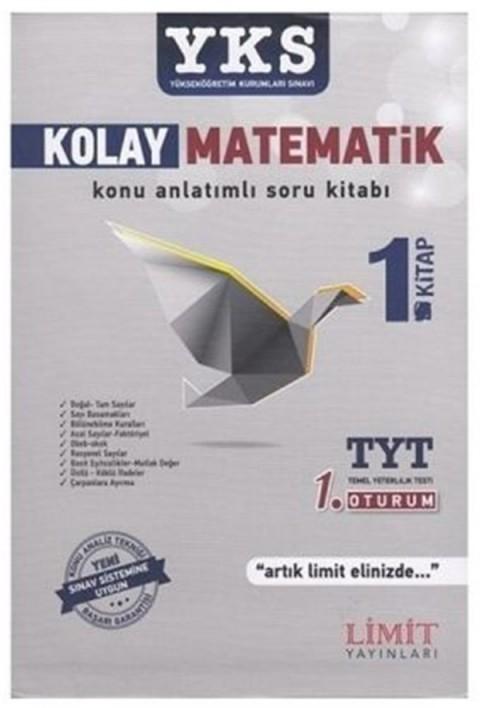 Limit Yayınları TYT Kolay Matematik Konu Anlatımlı Soru Kitabı 1. Kitap