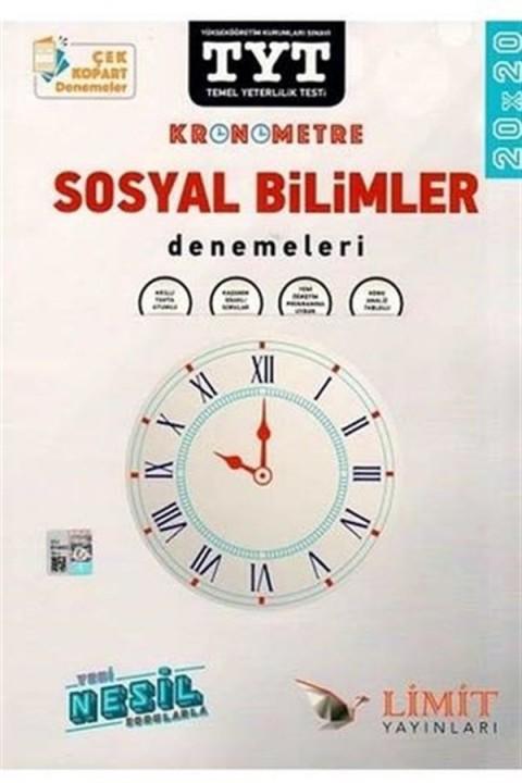 Limit Yayınları TYT Kronometre Sosyal Bilimler Denemeleri