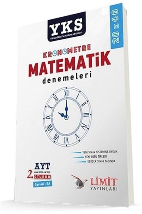 Limit Yayınları YKS AYT Kronometre Matematik Denemeleri