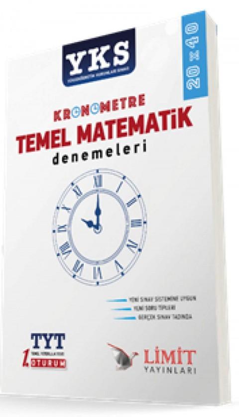 Limit Yayınları YKS TYT 1. Oturum Kronometre Temel Matematik Denemeleri