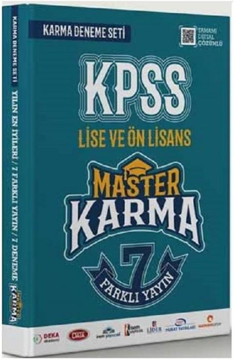 Master Karma Kpss Lise ve Önlisans Karma 7 Deneme