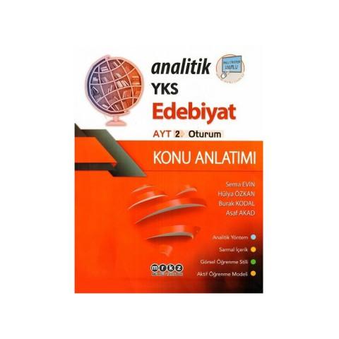 Merkez Yayınları AYT Analitik Edebiyat Konu Anlatımı