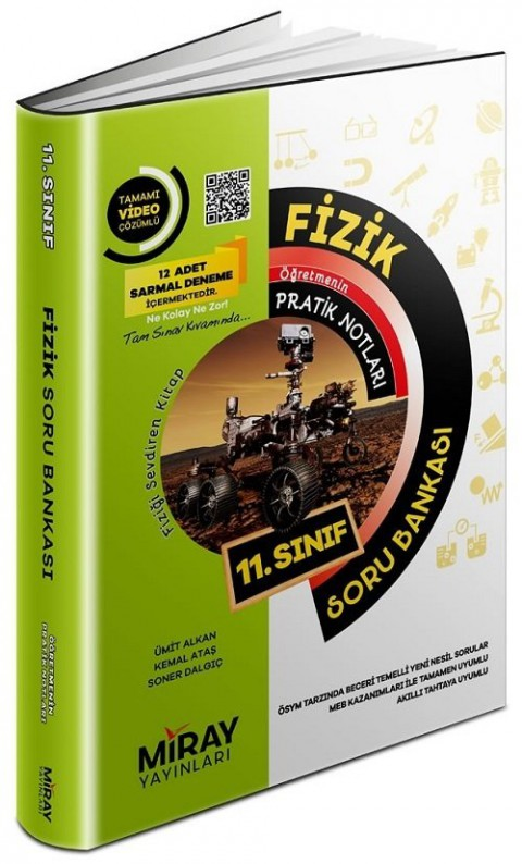 Miray Yayınları 11. Sınıf Fizik Soru Bankası