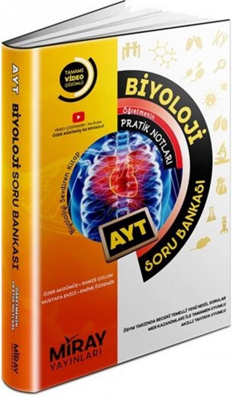 Miray Yayınları AYT Biyoloji Soru Bankası