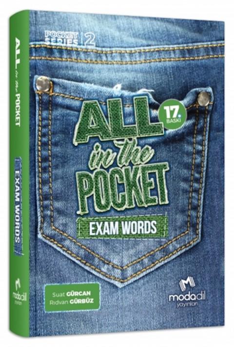 Modadil Yayınları Exam Words All in the Pocket YDS Sözlüğü