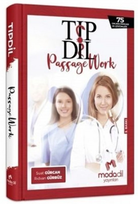 Modadil Yayınları Tıp Dil Passage Work