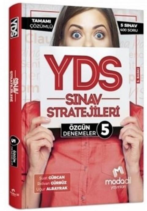 Modadil Yayınları YDS Sınav Stratejileri 5 Özgün Denemeler